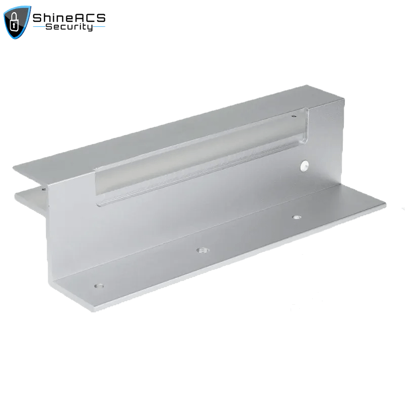 Magnetic Lock Brackets For Glass Door For Maglock Shineacs Security