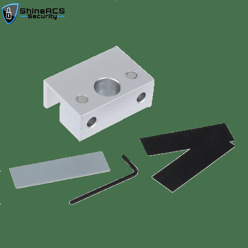 SL B100 1 - Electric Deadbolt Lock Bracket for Glass Door