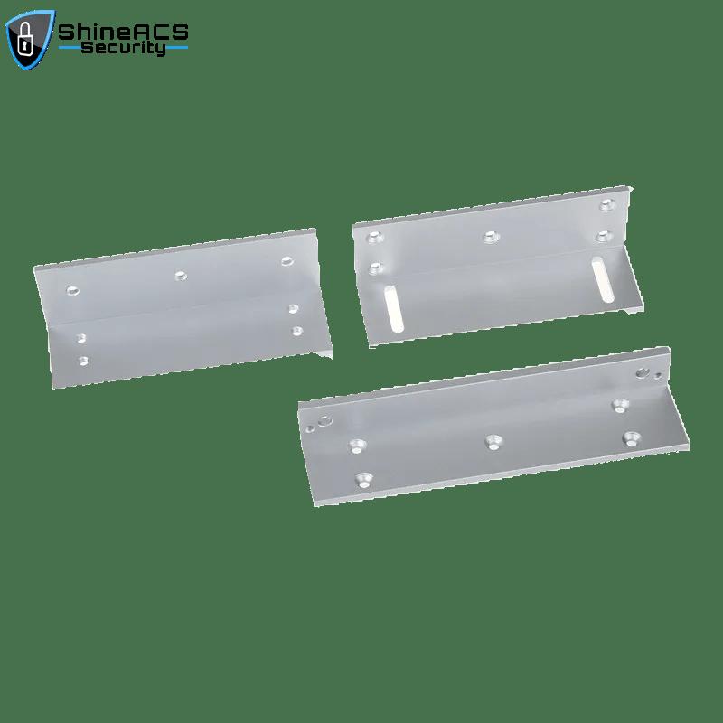SL B500ZL 1 - Em Lock Bracket For Glass Door Maglocks