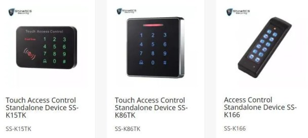 stand alone access control card reader - Door access control system configuration Guide