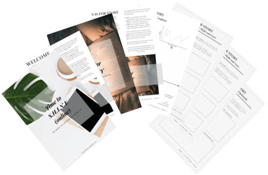 Sample Bundle of Weekly Templates and Worksheets - Time to SHINE (Online)
