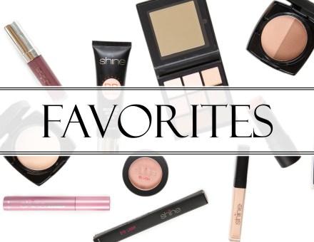 Shine Cosmetics Favorites 02