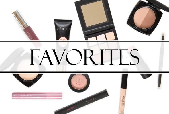 Shine Cosmetics Favorites
