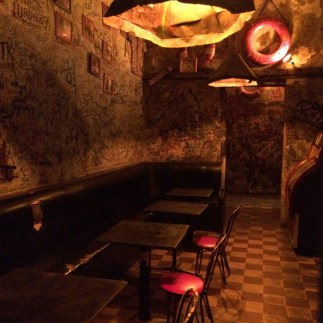 El Batey. Come for the graffiti, stay for one drink.