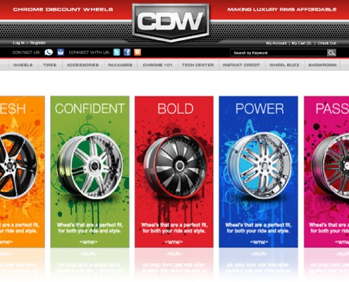 Chrome Discount Wheels Digital Ads 2