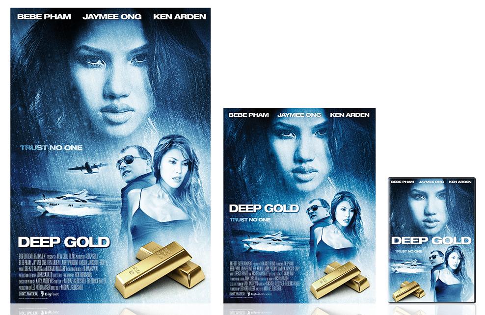 Deep Gold International Print Campaign