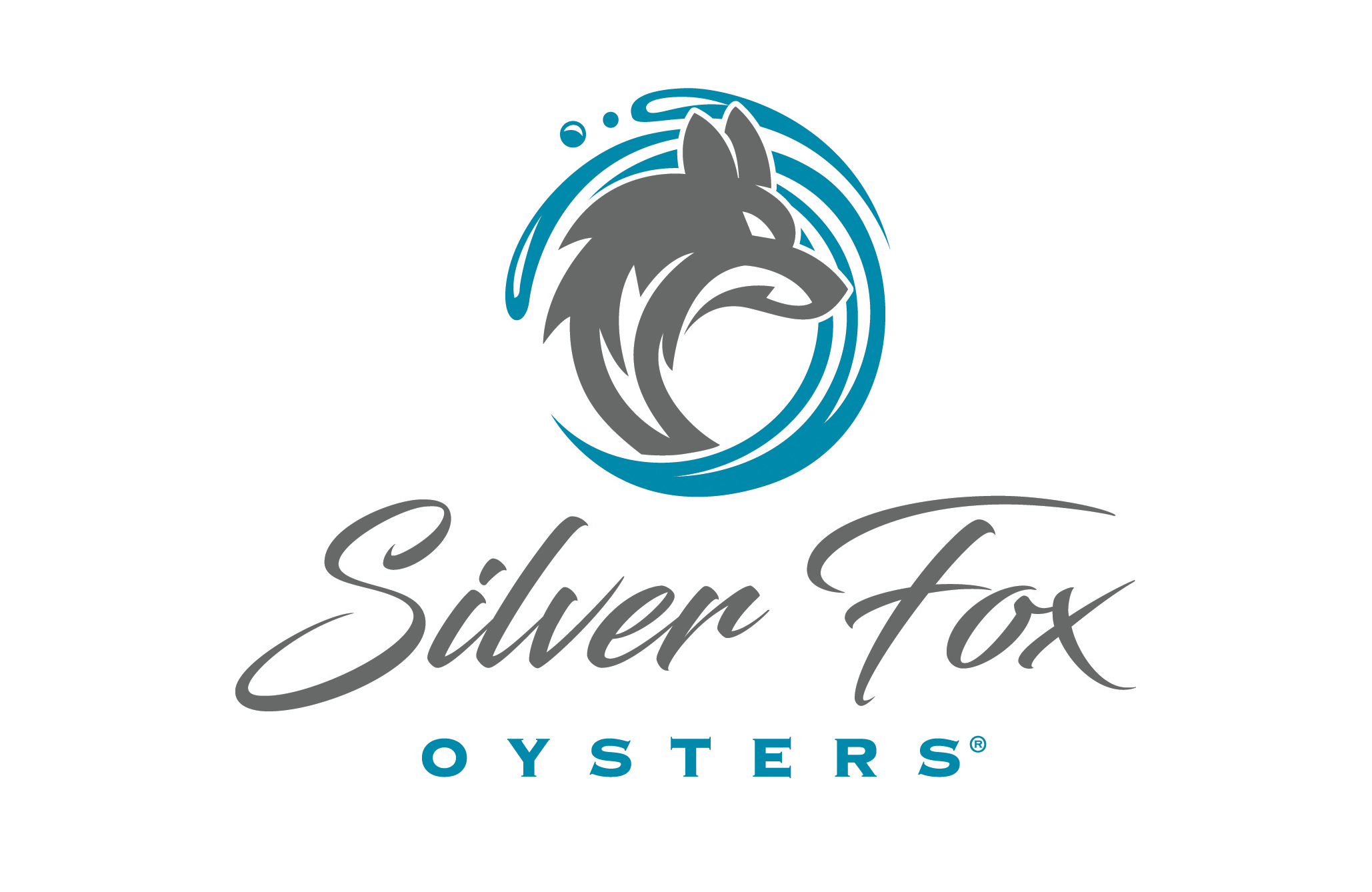 Silver Fox Oysters Logo and Branding