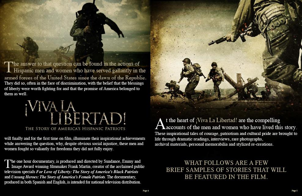 Viva La Libertad Press Kit 3