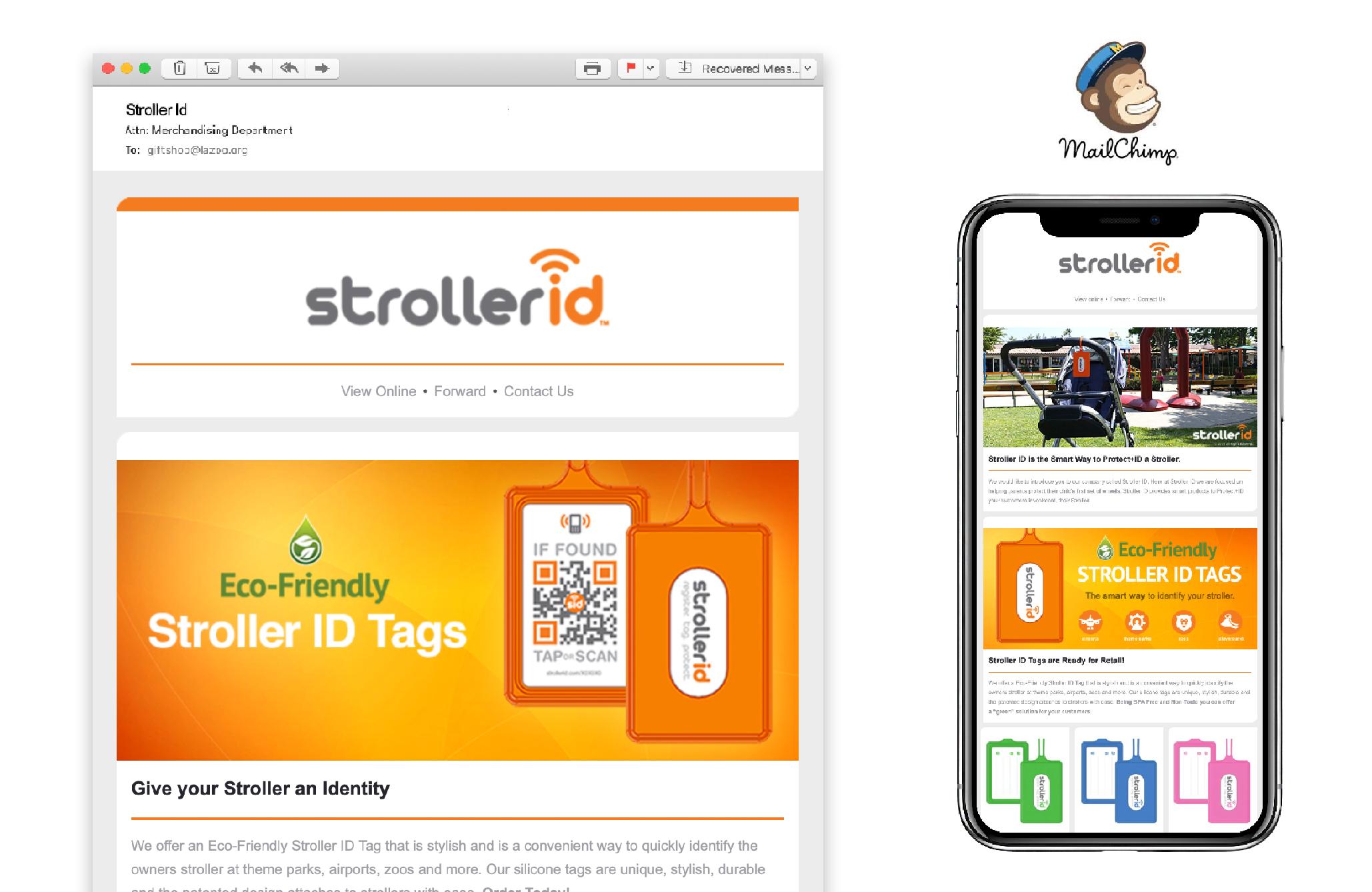 Stroller ID Mailchimp Newsletter
