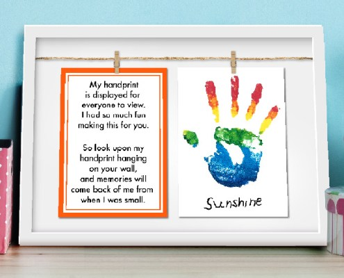 Handprint Display Kit