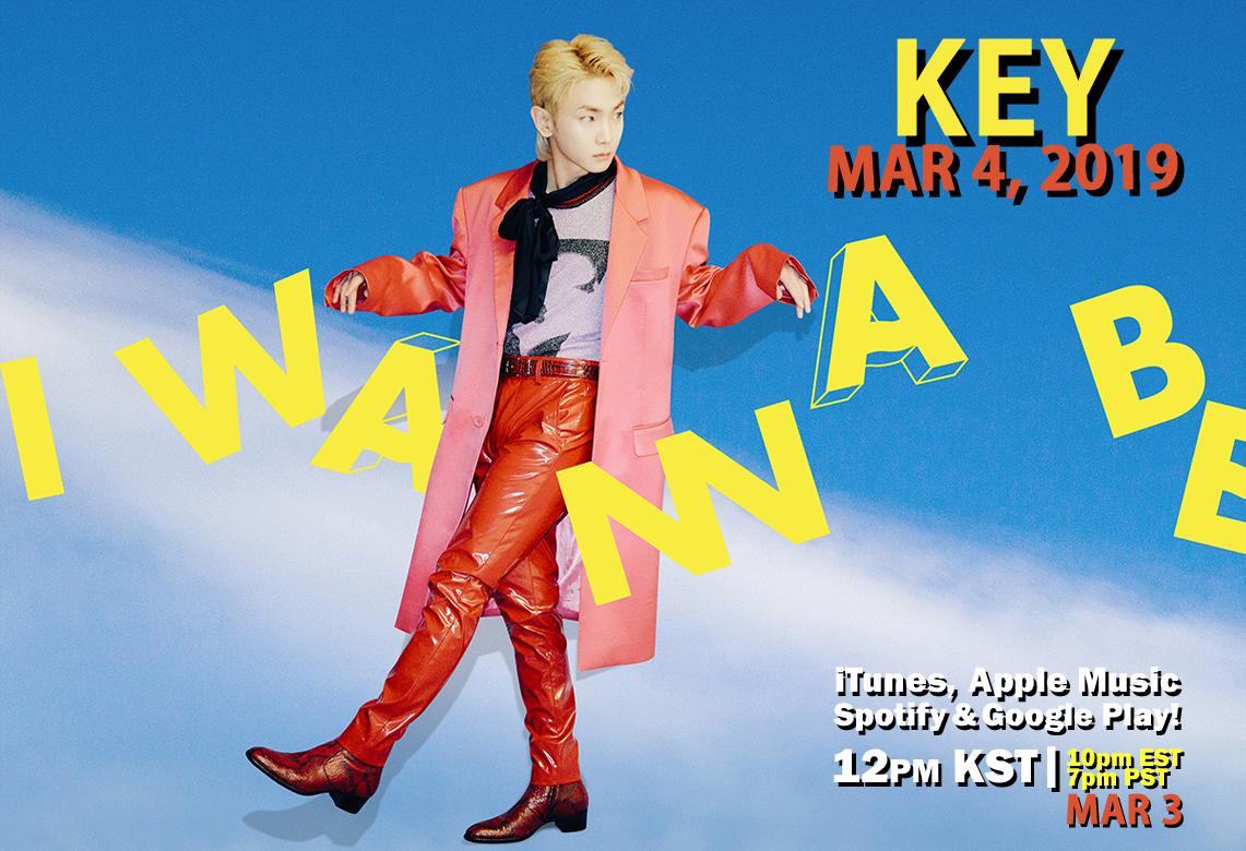 """KEY: """"I Wanna Be"""" Repackage Release 3/4~!"""