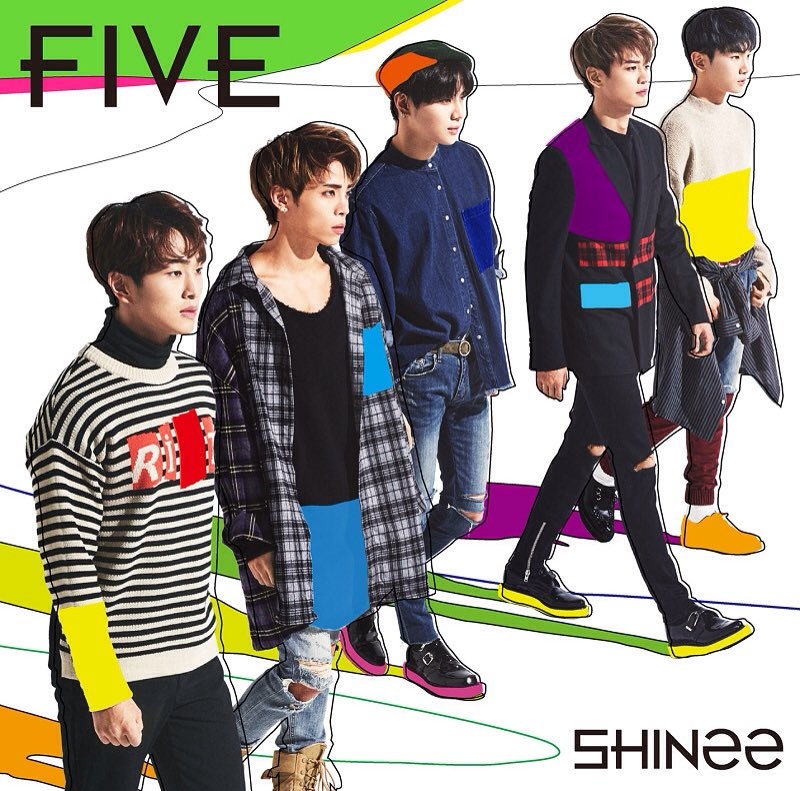 "SHINee: ""FIVE"" 5th JP Album Release 1/27~!"