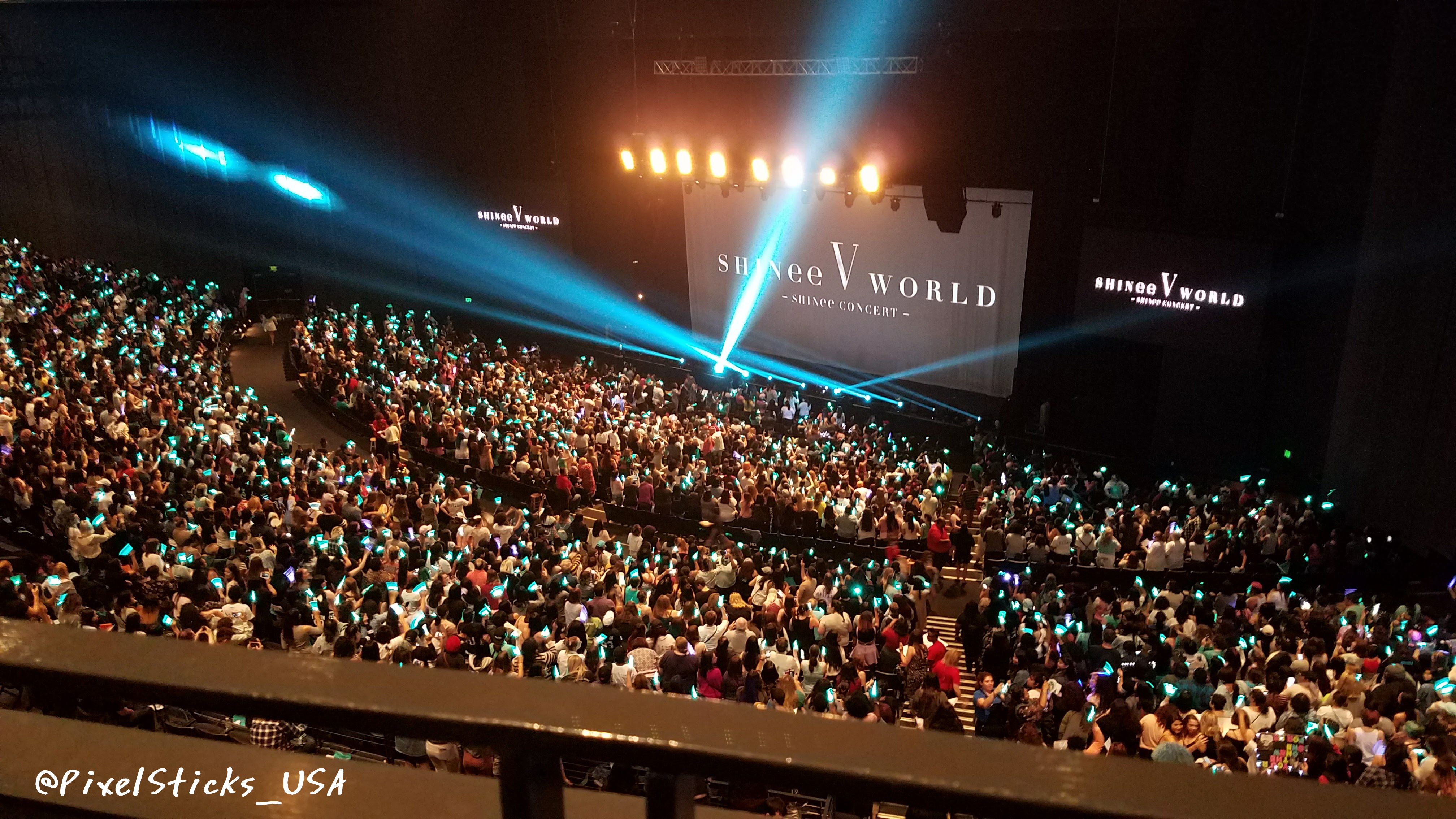 SHINee World V in Dallas: Admin FanAccount
