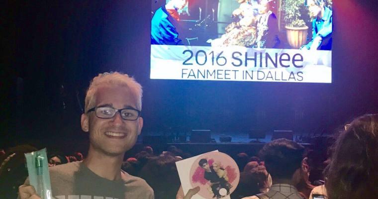 2016 SHINee Fanmeet in Dallas: FanAccount