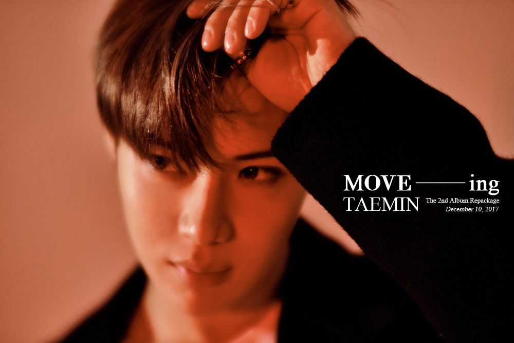 "Taemin: ""MOVE-ing"" 2nd Kor. Album Repackage Release 12/10~!"