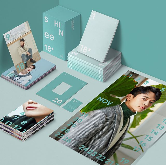 SHINee 2018 Seasons Greetings!