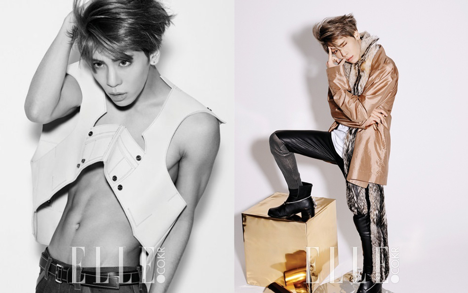Jonghyun: Elle Feb 2015 Trans