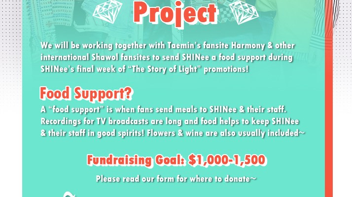 SHINee Food Support Project