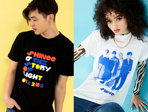 Official SHINee Hot Topic Merch Now on SALE~!