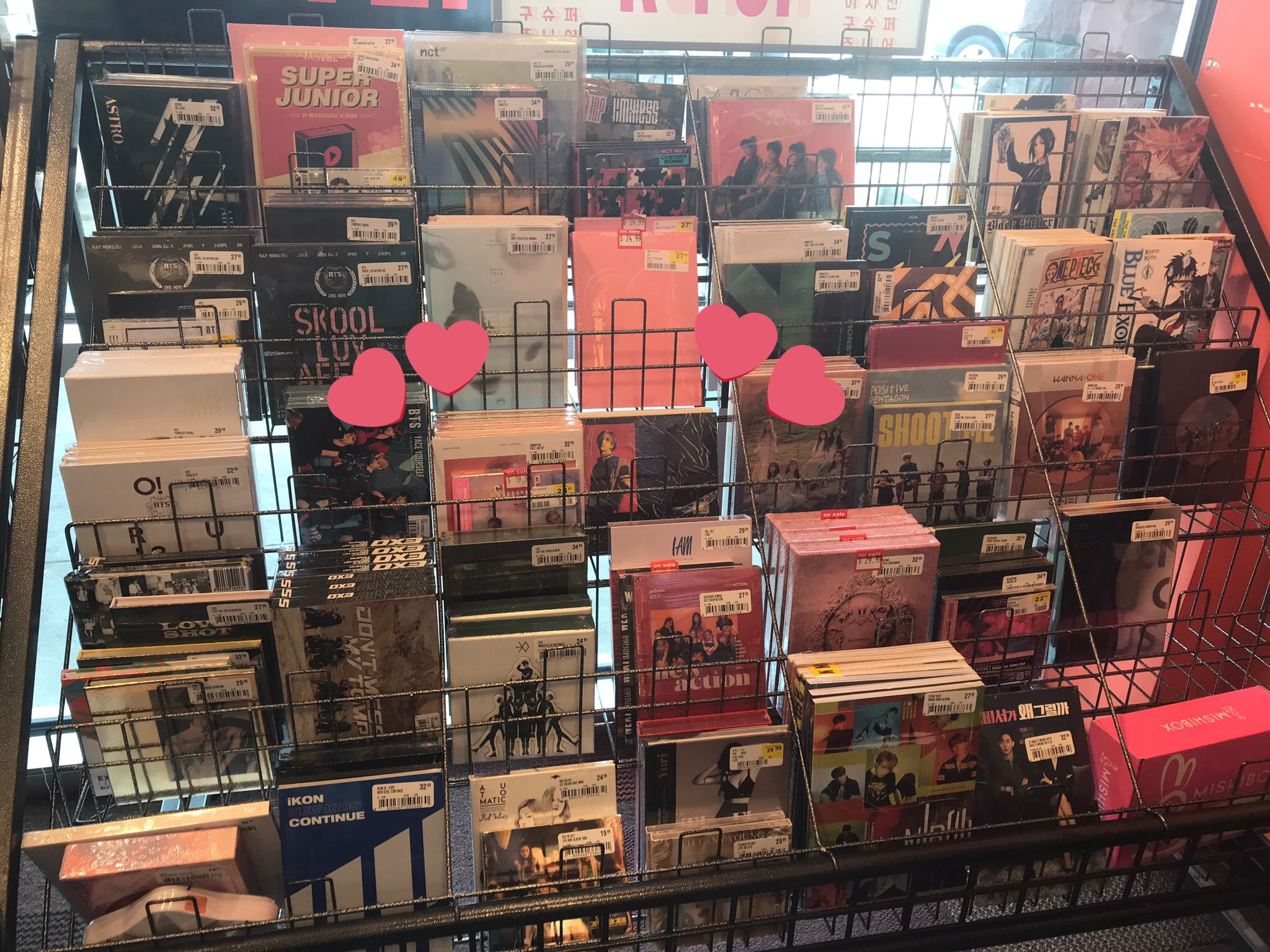 FYE, Music Plaza, & Choice Music Now Count on HANTEO Chart