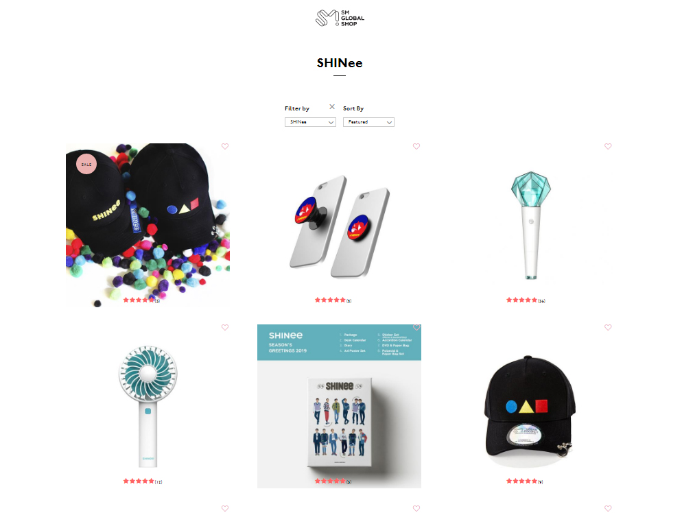SM Global Shop: SM's Official International Store (USA based)