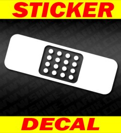 band aid decal-2