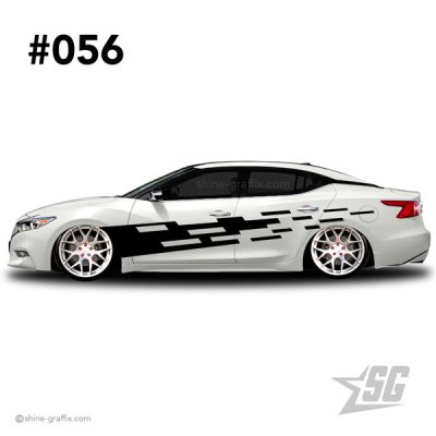 car graphic 56 decal stripe graphics turbo