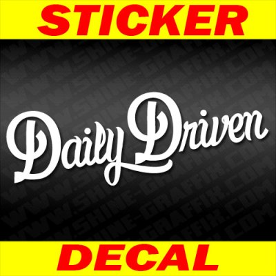 Daily Drive decal