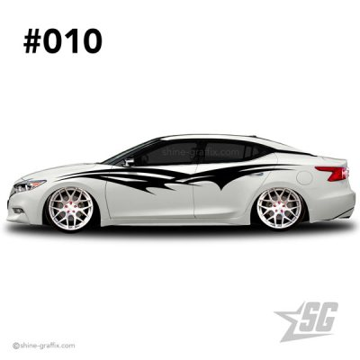 car graphic 10 decals stripe graphics tuning tribal
