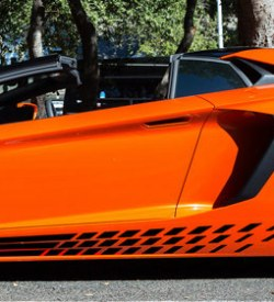 Lamborghini aventador side graphics 418 LP 700, 720, 750, Coupe, Roadster, SV