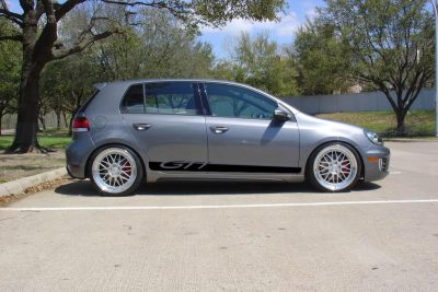 GTI side graphics rocker panel stripe 2