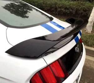 2017 mustang gt350 GT wing spoiler 2015 2016 side view
