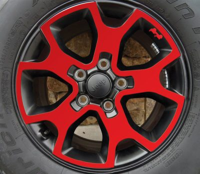 Jeep Rubicon JL wheel-decals 2018 side