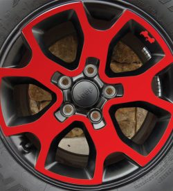 Jeep Rubicon JL wheel-decals 2018 side
