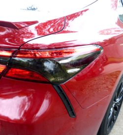 2020 Toyota Camry Tail Lights Tint Inserts Rear