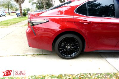 2020 Toyota Camry Tail Lights Tint Inserts Side