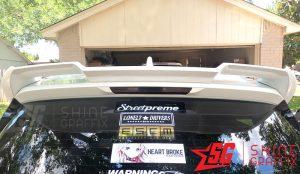 2020 corolla hatchback Black Brake light tint insert