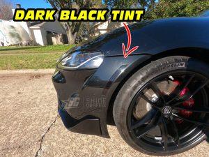Mk5 Supra a90 Amber delete tint front bumper