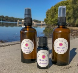 Interested in purchasing your own Shine Om Essentials?   Head on over to our website for all your self care and essential oil needs.