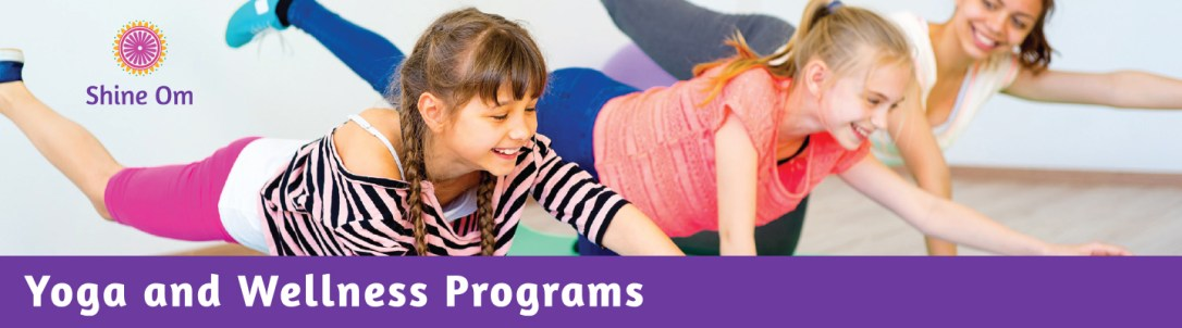 Shine Om offers in-school Yoga and Wellness programs for young people aged 2-18.