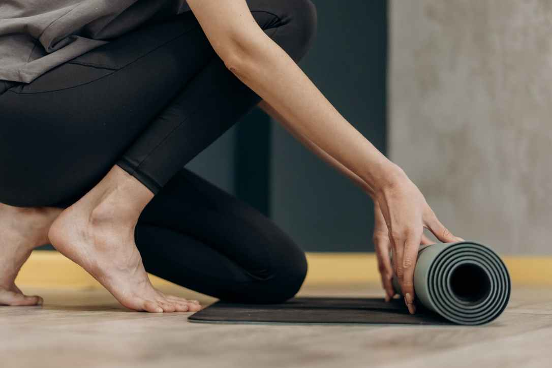 Visit shineom.com.au to learn what yoga props you already have at home.