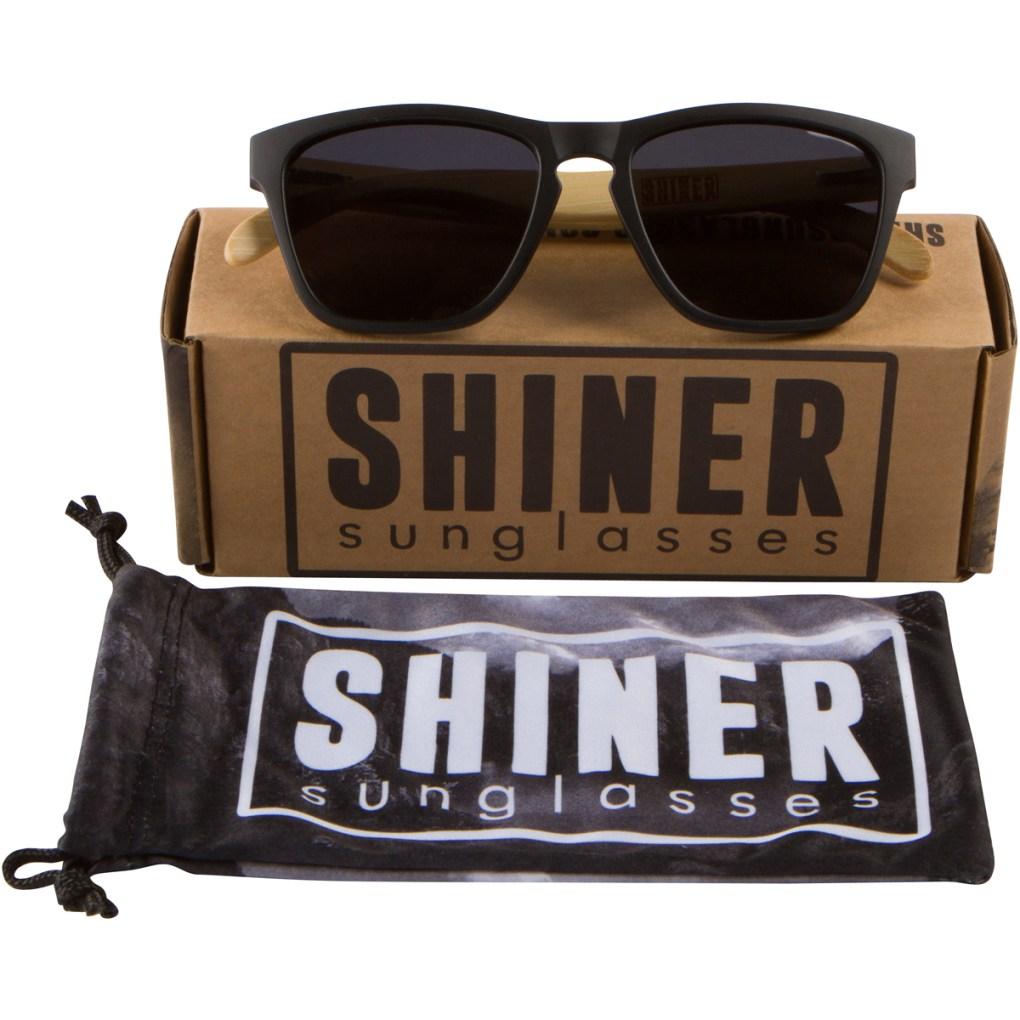Bamboo Hybrid Frame Sunglasses