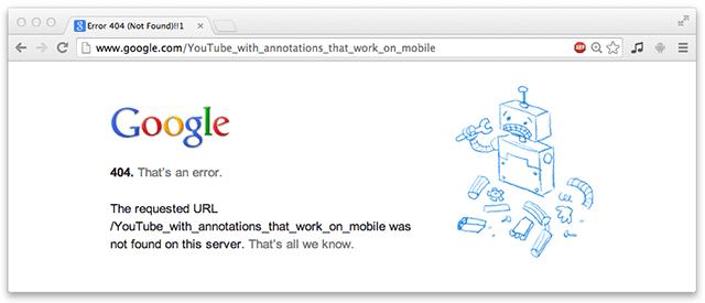 Google Drops the Ball