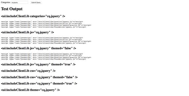 dumplibs-output-test