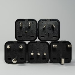 Photo of electrical socket adapters