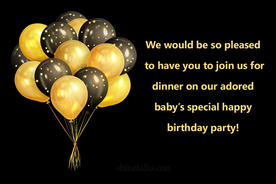 birthday invitation quotes images and