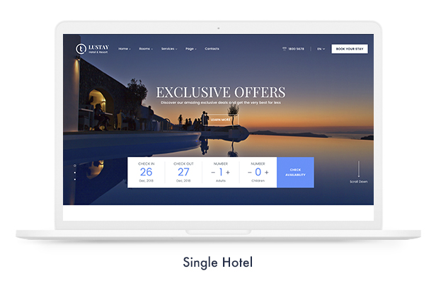 Travel Booking WordPress Theme - 13