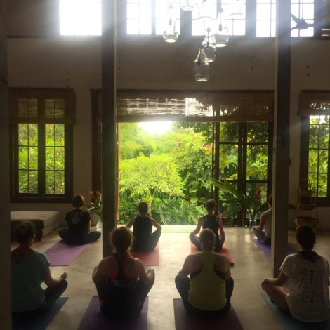 Yoga Retreat Bali Yoga Class