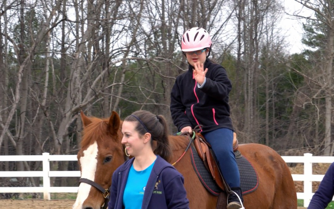 What is Therapeutic Riding? Meet Amy and find out.