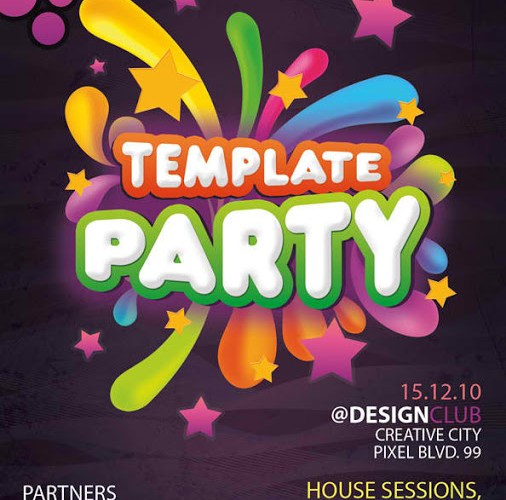 SPOT the Best Free Flyer Templates on the Web for Your Bussiness or Kid's Birthday